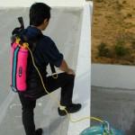 Система спасения из высотных зданий