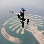 Прыжки с задержкой раскрытия парашюта 60 сек.